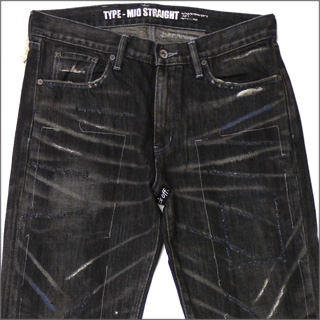 NEIGHBORHOOD(네이버후드) BEYOND SAVAGE MID 데님 BLACK 240-000763-041-