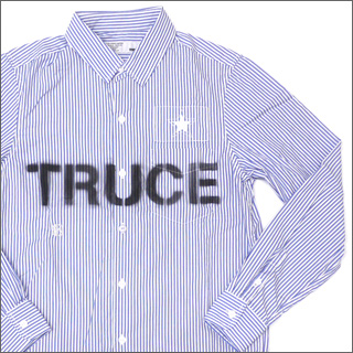NEIGHBORHOOD (neighborhood) TRUCE long sleeve shirt BLUE 216-000384-034-