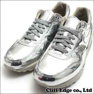low priced 523ba 5ae69 ... coupon nike wmns air max 1 sp liquid metal airmax swan metallic silver  light bone 616170