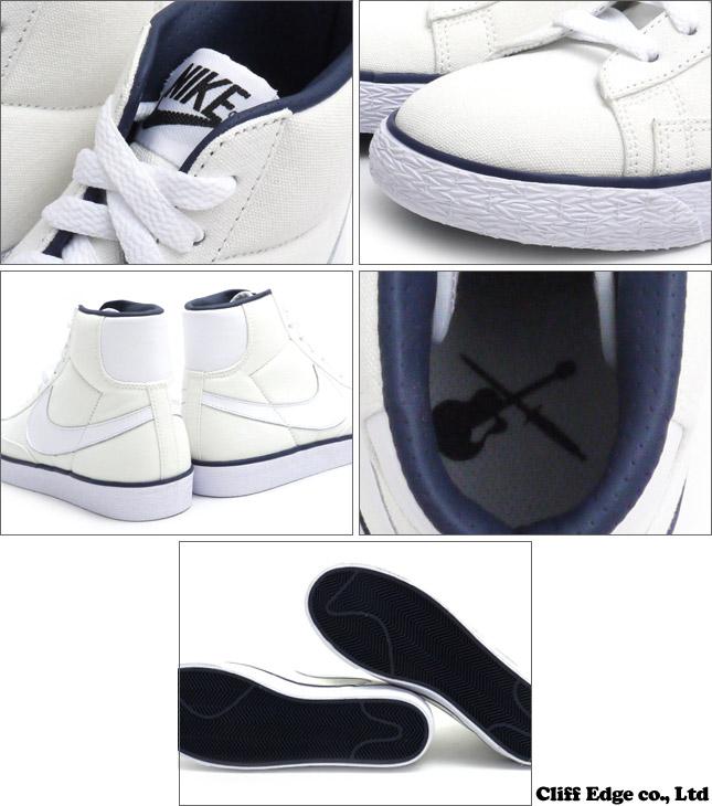 A. P. C. x NIKE x BONTON BLAZER MID VNTG (Blazer) (Sneakers) (Shoes)  WHITE/WHITE