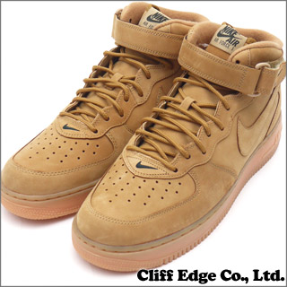 nike air force 1 mid 07 prm qs flax