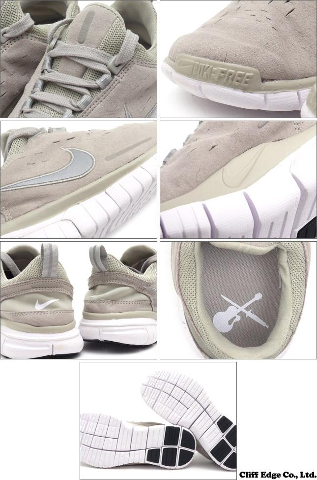 NIKE (Nike) x A.P.C.(ATPase) FREE OG ' A.P.C.SP 14. BEIGE CHALK/RFLCT  SILVER-WHITE