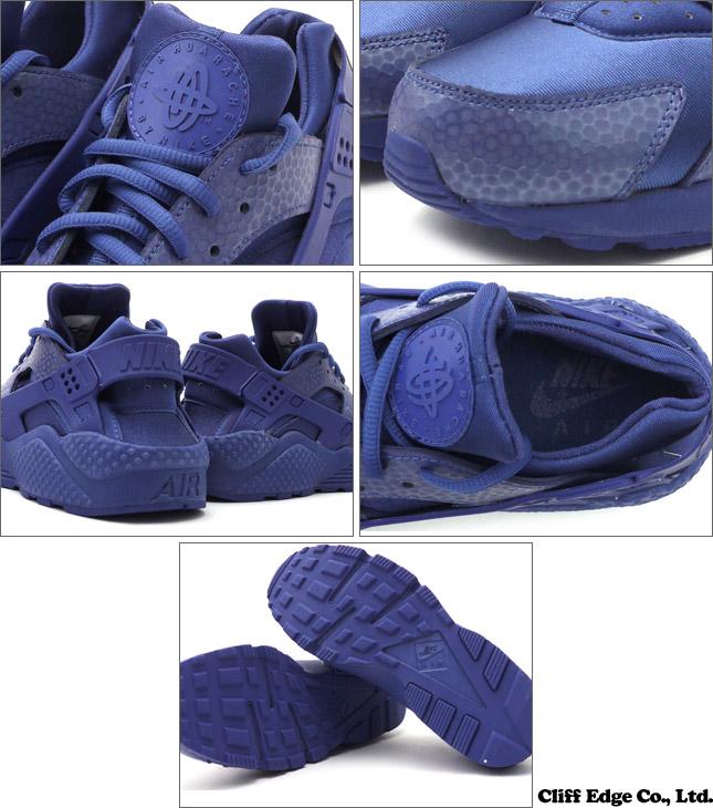 621f9466a022 NIKE (Nike) WMNS AIR HUARACHE RUN PRM (Erhart) (Sneakers) (Shoes) BLUE  LEGEND BLUE LEGEND