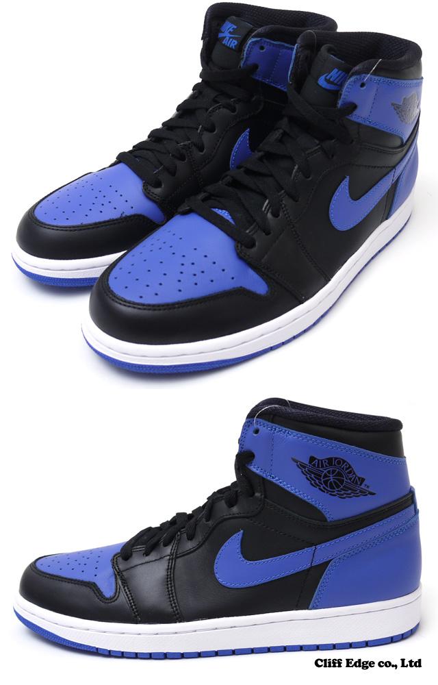 f236a57bf2b5  New 2013  AIR JORDAN 1 RETRO HIGH OG  Jordan   Shoes  BLACK VARSITY  ROYAL-BLACK