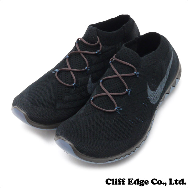 NIKE (나이키) x UNDERCOVER (언더 커버) GYAKUSOU (ギャクソウ) FREE 3.0 FLYKNIT (무료) (플라이 니트) (운동 화) (신발) BLACK/ARMORY SLATE-BRQ BROWN 810821-001 291-001965-291x