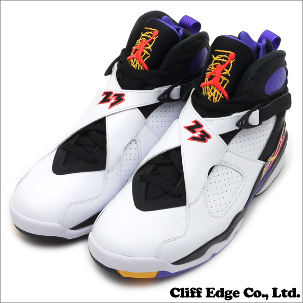 e0a0fd1464a3 Cliff Edge  耐克(Nike) 空气约旦8 复古(Jordan) (运动鞋) (鞋) 白 红外 ...