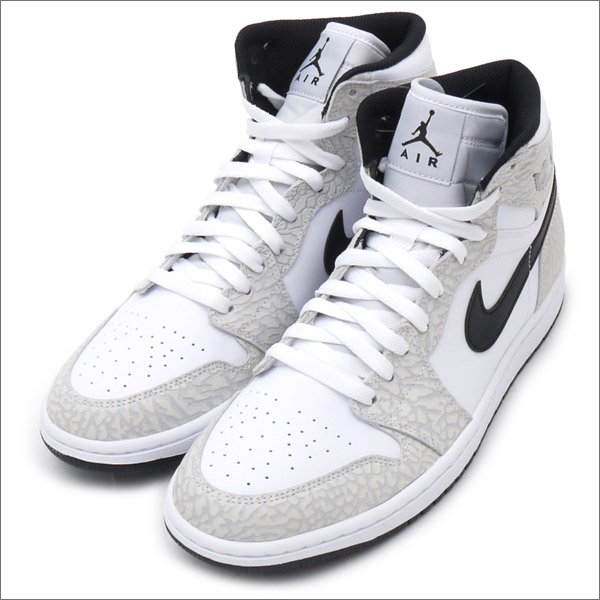 NIKE AIR JORDAN 1 RETRO HIGH (sneakers) (shoe) WHITE BLACK-PURE PLATINUM  839115-106 291 - 002015 - 280x fcbe09799