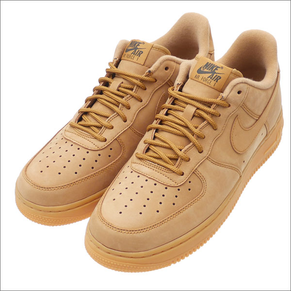 NIKE(ナイキ) AIR FORCE 1 '07 WB (エアフォースワン) FLAX/FLAX-GUM LIGHT BROWN AA4061-200 291-002333-276x【新品】
