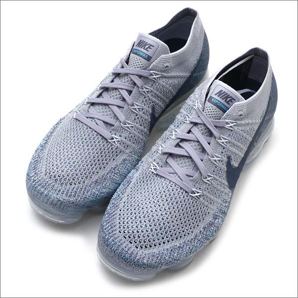 finest selection 038c8 3571e Nike NIKE AIR VAPORMAX FLYKNIT vapor max WOLF GREY BLUE FOX 849558008  291002334282