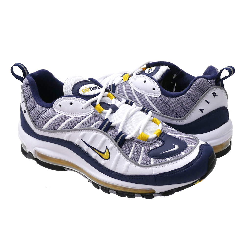 14525a7e7d6 Cliff Edge  NIKE (Nike) AIR MAX 98 (Air Max) WHITE TOUR YELLOW ...
