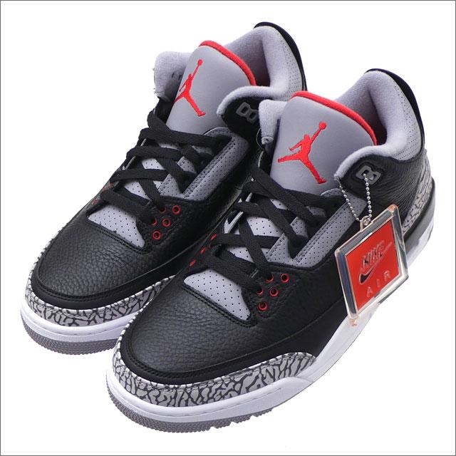 best website 89242 8f30b NIKE (Nike) AIR JORDAN 3 RETRO OG (Air Jordan) BLACK FIRE RED-CEMENT GREY  854,262-001 291-002383-271x