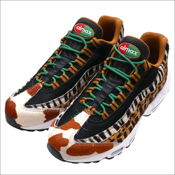 NIKE(ナイキ) AIR MAX 95 DLX (エアマックス) PONY/SPORT RED-BLACK AQ0929-200 291-002407-279+【新品】