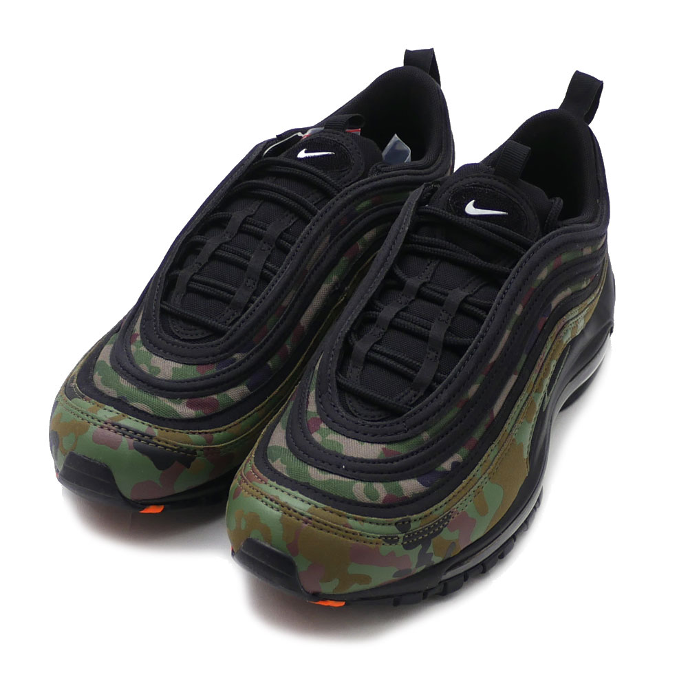 NIKE(ナイキ) AIR MAX 97 PREMIUM QS (エアマックス) PALE OLIVE/BLACK-SAFARI AJ2614-203 291-002360-289 191-012196-999 420-000151-305x【新品】