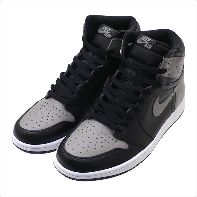 NIKE(ナイキ) AIR JORDAN 1 RETRO HIGH OG (エアジョーダン) BLACK/MEDIUM GREY-WHITE 555088-013 291-002417-291+【新品】