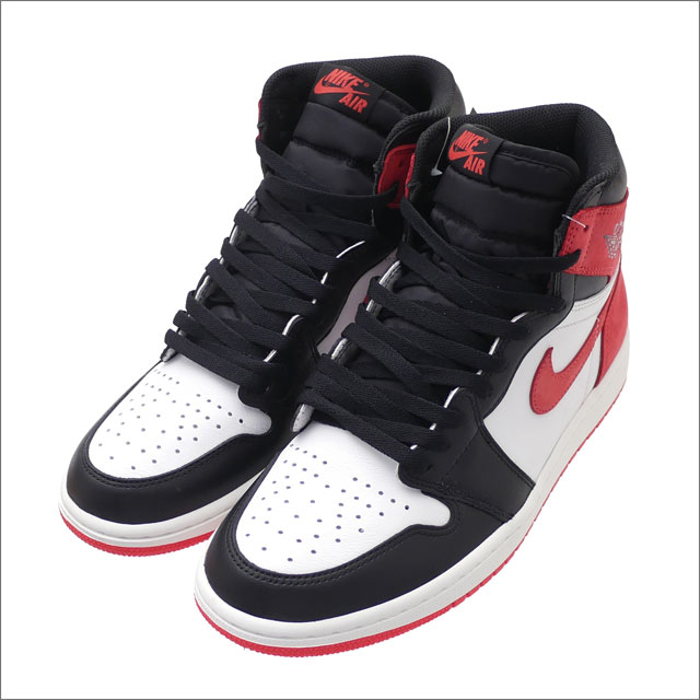 NIKE(ナイキ) AIR JORDAN 1 RETRO HIGH OG (エアジョーダン) SUMMIT WHITE/TRACK RED-BLACK 555088-112 291-002426-280 191-012562-313+【新品】