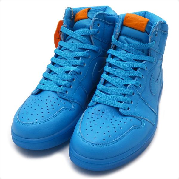 fe02f844814 NIKE (Nike) AIR JORDAN 1 RETRO HI OG G8RD (Air Jordan 1 Gatorade) BLUE  LAGOON AJ5997-455 191-012628-284+