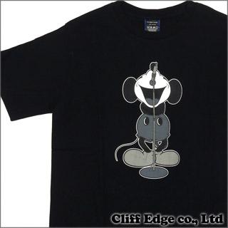 NUMBER(N) INE x Disney 보컬 미키 T셔츠 BLACKxGRAY 200-005499-042+
