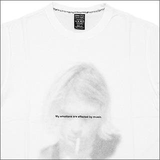 NUMBER(N) INE(넘버 나인) 카트・코반 T셔츠 WHITE/NT018