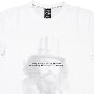 NUMBER(N)INE (number nine) THE ONLY T-shirt WHITE/NT024