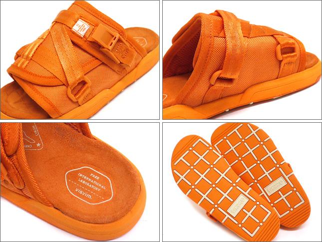 ( ヴィズビム ) VISVIM CHRISTO sandal ORANGE 292-000105-039 +