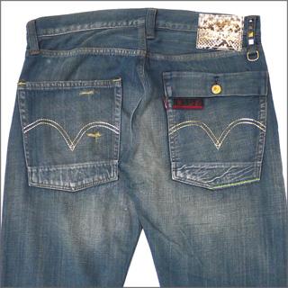 CLOT(크로트) x Levi's(리바이스) Python 505 Washed 데님 INDIGO 240-000756-044+