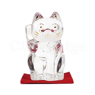 Baccarat(バカラ)CRYSTAL 招き猫【新品】CLEAR290-001322-010x