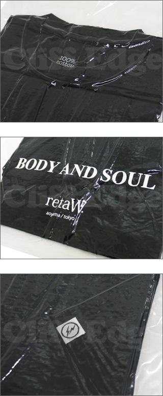 Fragment Design(fragment 디자인) x retaW(리트) BODY AND SOUL T셔츠 200-003835-050 x