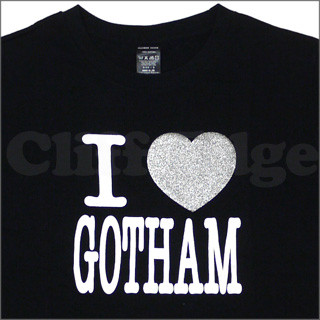 NUMBER (N) INE (number nine) I LOVE GOTHAM T shirt BLACK 200 - 004086 - 531x