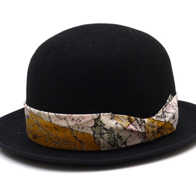 TMT BOWLER HAT [ハット]BLACK 352-000011-041-【新品】