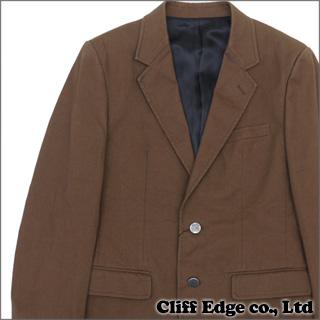 WACKOMARIA サイドベンツ テーラードジャケット BROWN 330-000129-046+【新品】