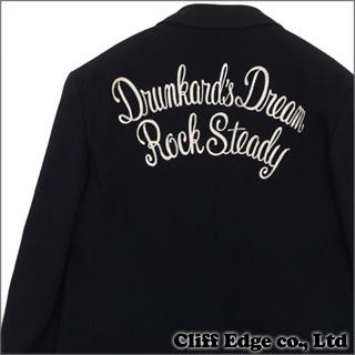 WACKOMARIA メルトンウール チェーンステッチ テーラードジャケット BLACK 330-000130-061+【新品】