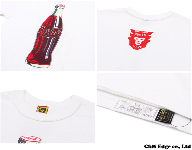 HUMAN MADE x COCA-COLA x BEAMS BOTTLE TEE [T셔츠] WHITE 200-005256-040 x