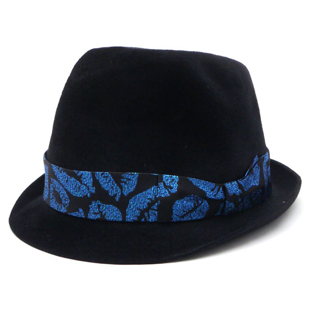 WACKOMARIA ハット [HAT] BLACKxBLUE 352-000013-064【新品】