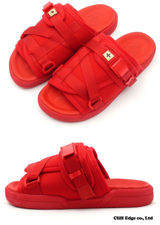 VISVIM 克里斯托凉鞋红 292-000126-043 x