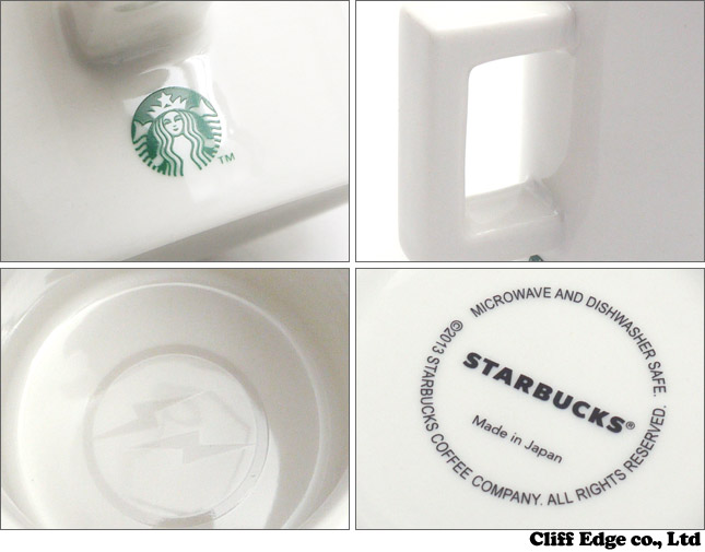 Starbucks x Fragment Design 커피 머그잔 사용료(340 ml) WHITE 290-002901-019 x