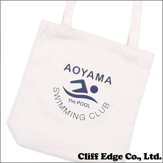 The POOL aoyama (더 풀 아오야마) SOUVENIR AOYAMA TOTE BAG (가방) KNR 277-001993-030 +