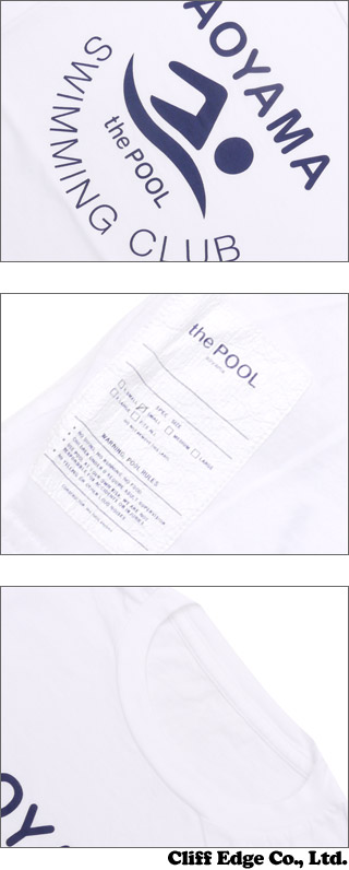 the POOL aoyama(더 풀 아오야마) SWIMMING CLUB TEE(T셔츠) 200-006124-037 x***