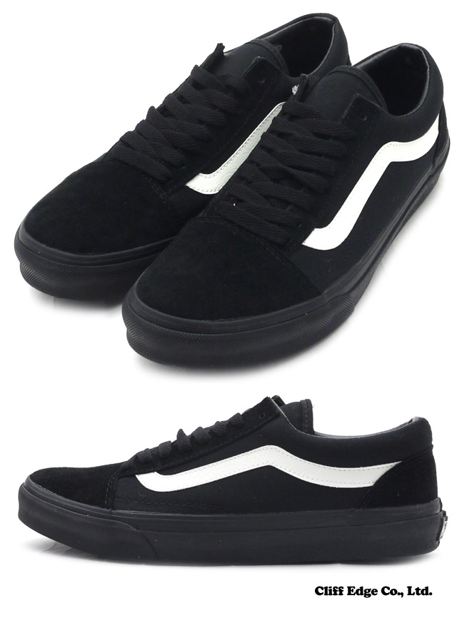 vans old skool total black