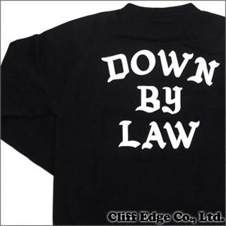 SSUR DOWN by LAW CREW (クルーネックスウェット) BLACK 999-002408-031+【新品】