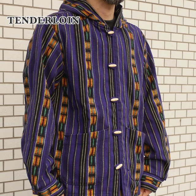 TENDERLOIN(テンダーロイン) T-GTM PARKA (パーカー) PURPLE 216-001308-029x【新品】