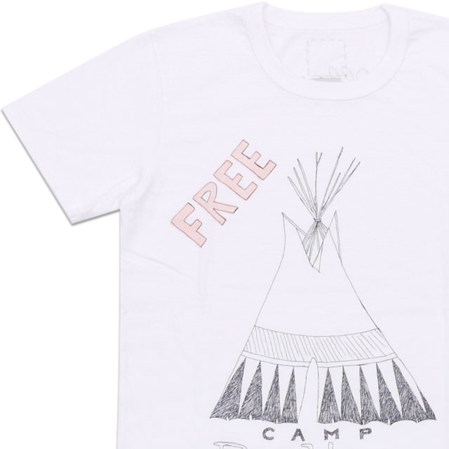 visvim(ヴィズビム) Zushi Marina Exclusive ICON PAINT TEE(Tシャツ) WHITE 200-006656-520+【新品】