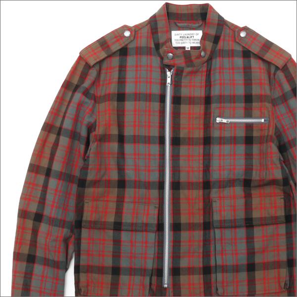 PEEL&LIFT(ピールアンドリフト) TARTAN MORTORCYCLE JACKET (ライダースジャケット) MacDonald-Clan-W 420-000005-046-【新品】