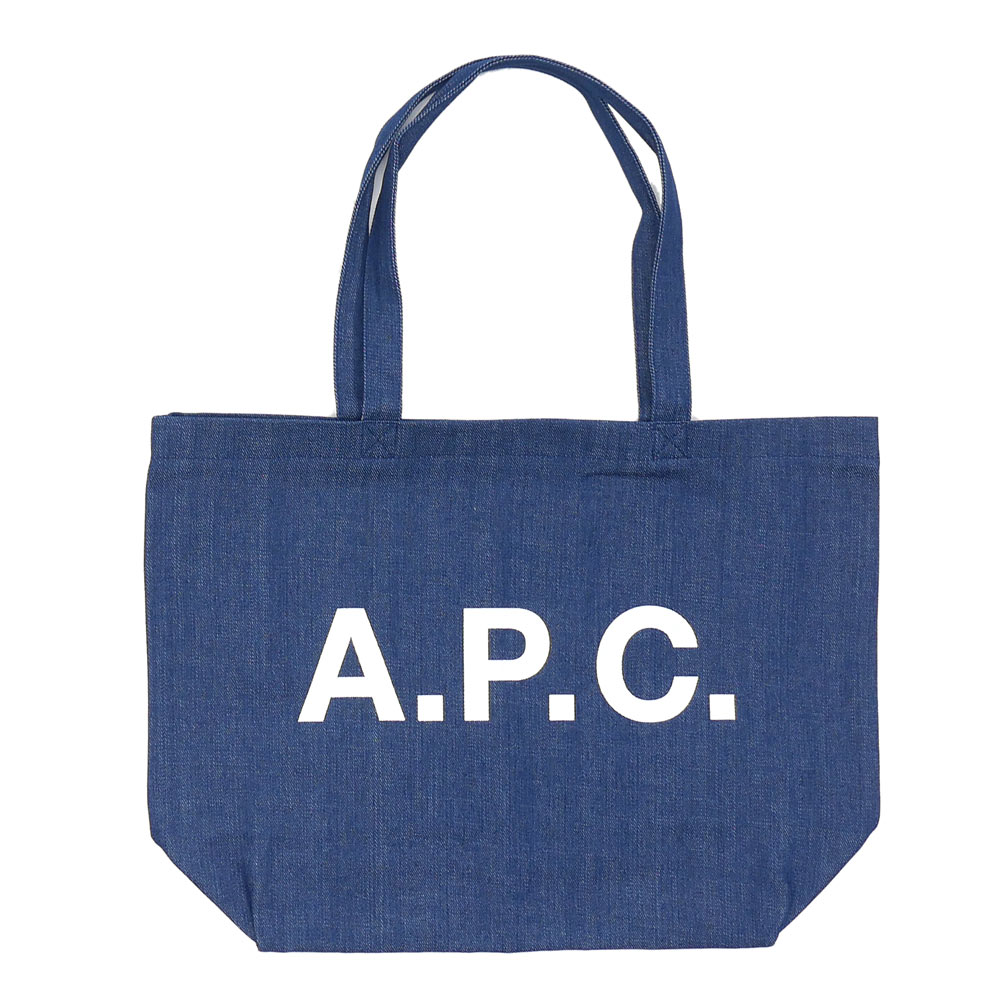 A.P.C.(apese)DENIM TOTE BAG(大手提包)INDIGO BLUE 277-002264-017x