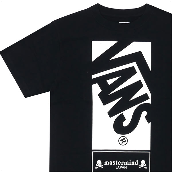 be6ad8d296066d mastermind JAPAN x VANS OFF THE WALL S S TEE (T shirt) + 200-007099-041  BLACK