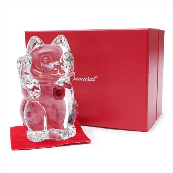 Baccarat(バカラ) CRYSTAL 招き猫 CLEARxRED 290-004016-010x【新品】