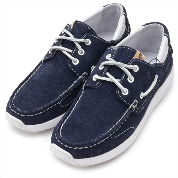 visvim(ヴィズビム) Zushi Marina 1st Anniversary Exclusive HOCKNEY (モカシンシューズ) NAVY 291-002110-287x【新品】