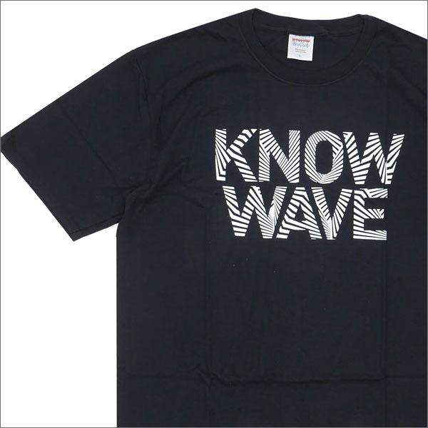 Know Wave(ノーウェーブ) Dazzle T-Shirt (Tシャツ) BLACK 200-007132-041+【新品】