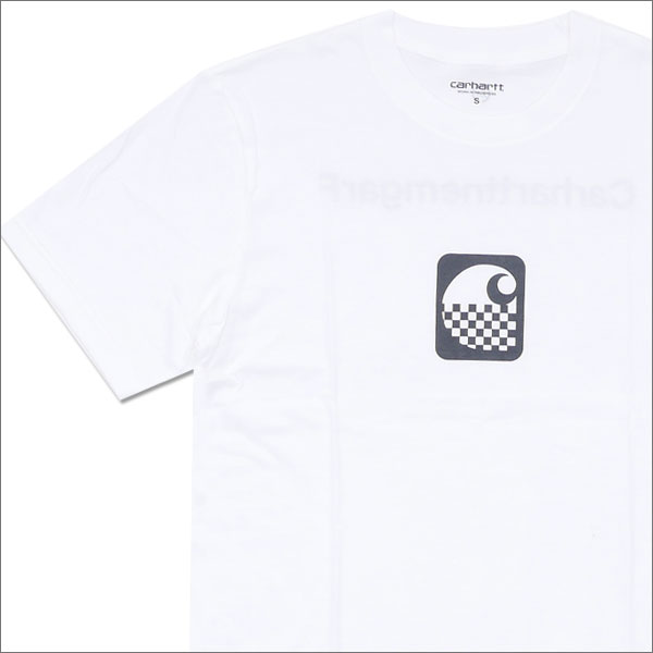 Carhartt WIP(カーハート)x Fragment Design(フラグメントデザイン) S/S CARFRA T-SHIRT (Tシャツ) WHITE 200-007133-030+【新品】