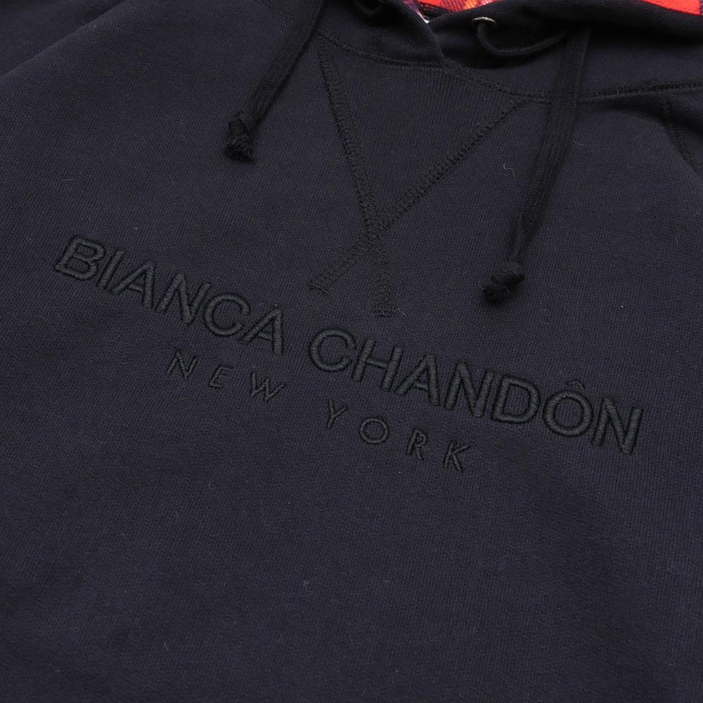 Bianca Chandon(비안카살돈) NY Hoodie (스웨트 파커) BLACK 211-000464-041+