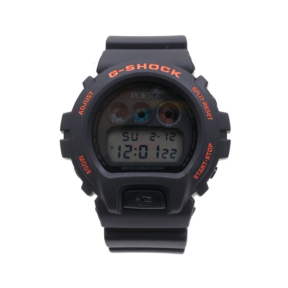 PORTER (포터) x CASIO(카시오) G-SHOCK DW-6900 FS (지손크)(손목시계) BLACK 287-000200-011+